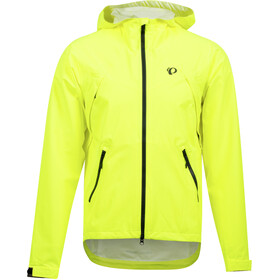PEARL iZUMi Monsoon WXB Hooded Jacket Men screaming yellow/phantom